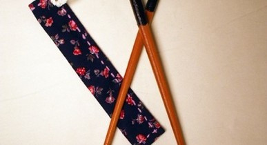 Environmentally friendly travel: Carry your own chopsticks