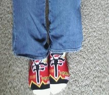 Shin ramyun socks!