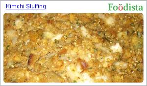 Kimchi stuffing recipe