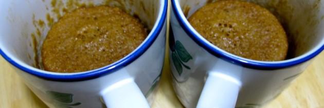 5 minute Korean chocolate mug cake