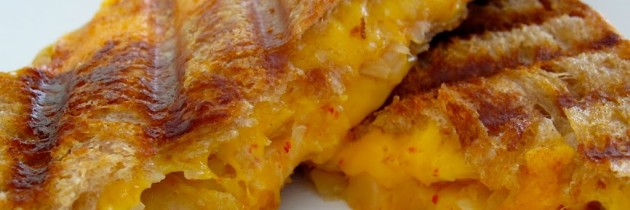 Recipe: Kimchi grilled cheese sandwich