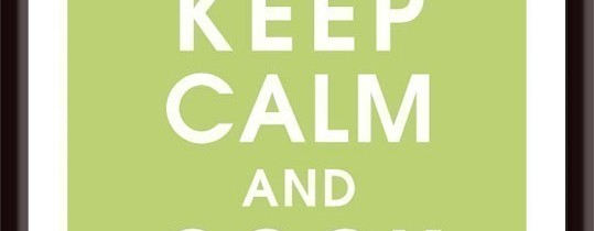 Keep Calm and Cook On Poster @ Etsy.com