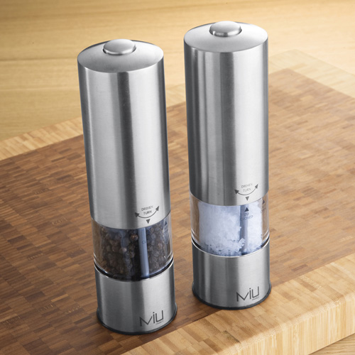 Electric Salt And Pepper Grinders Koreafornian Cooking