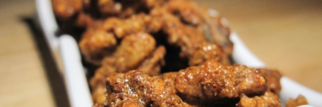 Recipe: Korean-style spicy walnuts