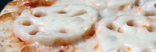 Recipe: Lotus Root Pizza