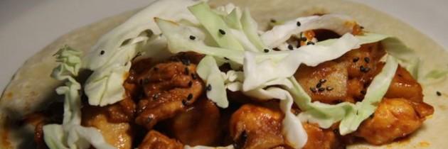 Recipe: Dakgalbi tacos