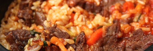 Food Review: Saffron Road Bibimbap With Beef microwave meal