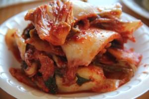 Isn't that kimchi gorgeous? (Jeff Quackenbush photo)