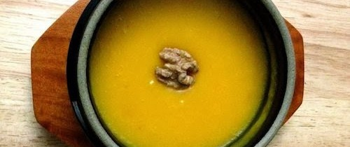 Recipe: Spicy Korean Pumpkin Porridge (매운 호박죽)