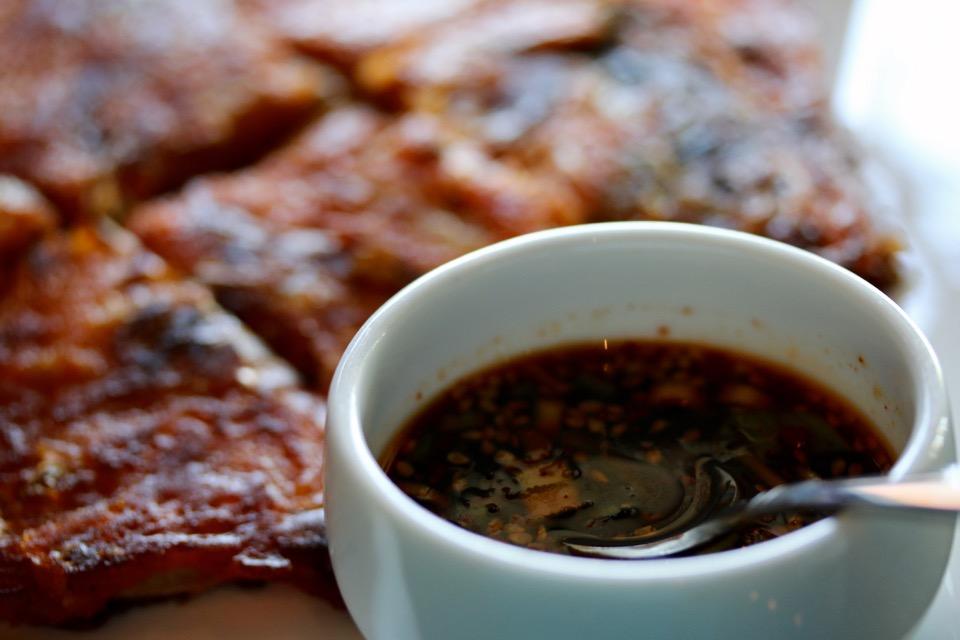 Soban Korean Cuisine jeon dipping sauce