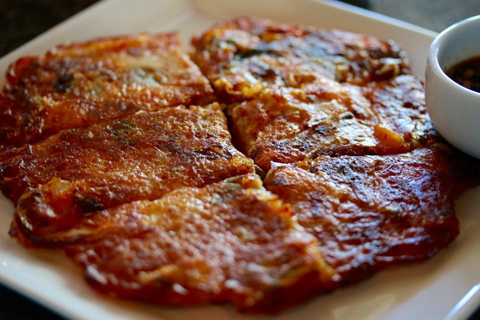 Soban Korean Cuisine kimchi jeon