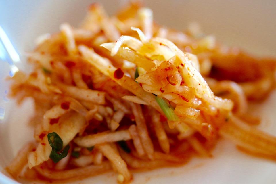 Soban Korean Cuisine radish kimchi