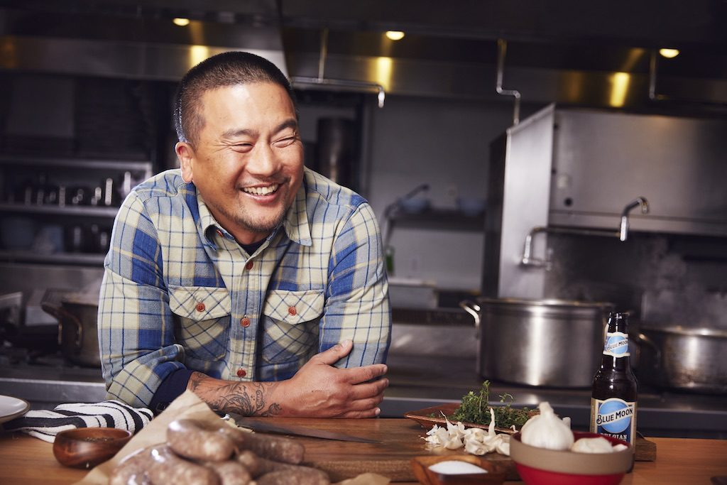 Roy Choi a face for Blue Moon Brewing