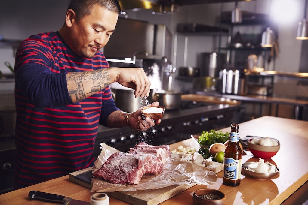 "Roy Choi's ""Just One Rib"" recipe for Blue Moon Brewing"